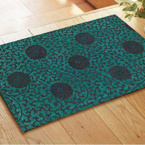 Buy Retro Pattern Chinese Style Embroidered Carpet Mats