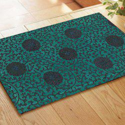 Retro Pattern Chinese Style Embroidered Carpet Mats -