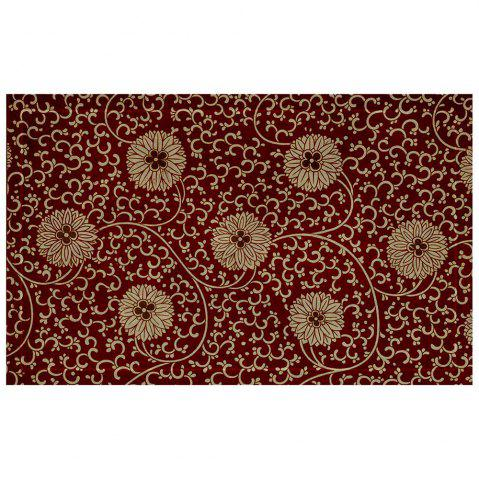 Outfits Hydrangea Combination Pattern Flannel Carpet Mats