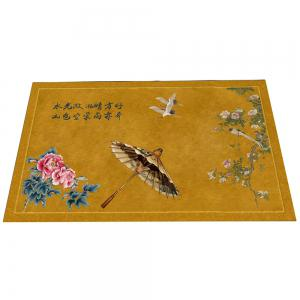 Chinese Wind Ink Landscape Carpet Pads Doormats -