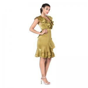 The Golden Dazzling Elegant Dress -