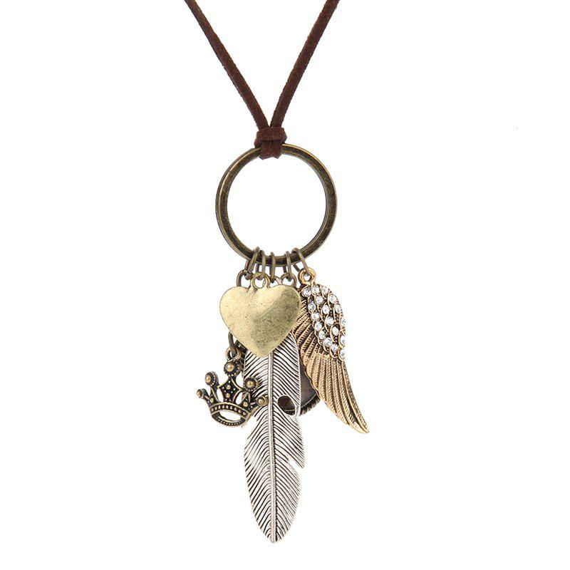 Shop Fashion Jewelry Personality Elements Cotton Garment Accessories Pendant Necklace
