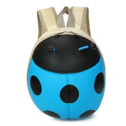 Kid's Backpack Hard Shell Cartoon Ladybird Shaped Cute Toddler Bag -