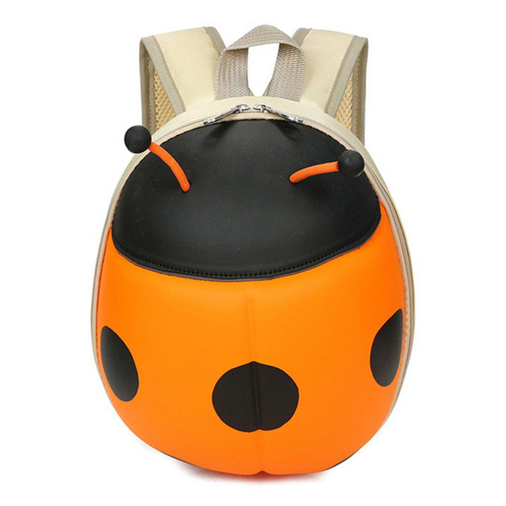 Outfits Kid's Backpack Hard Shell Cartoon Ladybird Shaped Cute Toddler Bag
