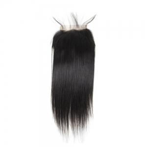 Brazilian Straight Lace Closure  Hair Natural Color -