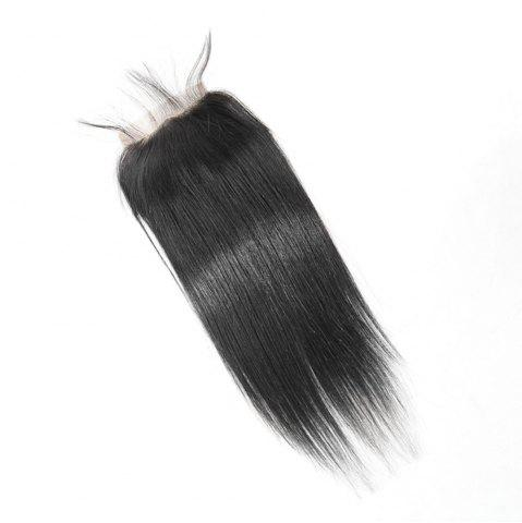 Sale Brazilian Straight Lace Closure  Hair Natural Color