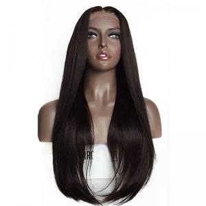 Long Straight Hair Synthetic Lace Front Wigs 180 Percent Density for Fashion Women -