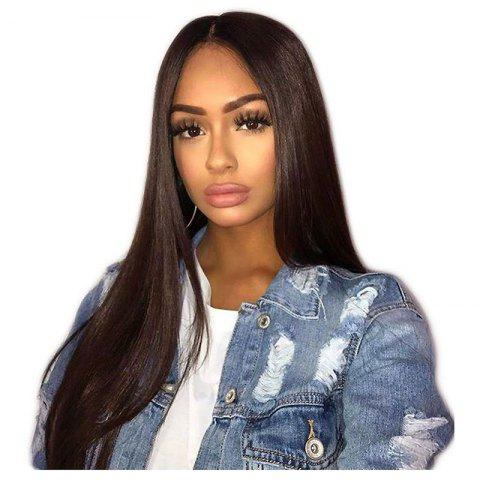 Latest Long Straight Hair Synthetic Lace Front Wigs 180 Percent Density for Fashion Women