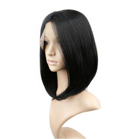 Cheap Short Straight Bob Hair Synthetic Lace Front Wigs for Beauty Girl 10 inch 12 inch 14 inch