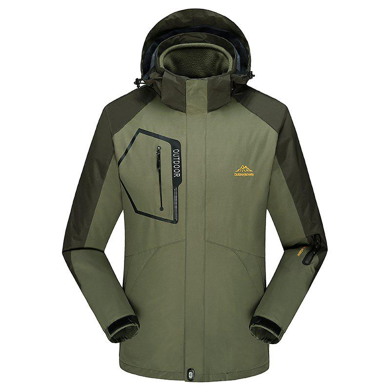 Sale Fashion Slim Velvet Thick Waterproof and Dustproof Outdoor Jacket