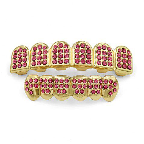 Online Hip Hop 18K Gold Plated Gold Classic Grillz
