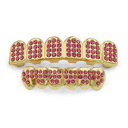 Hip Hop 18K Gold Plated Gold Classic Grillz -