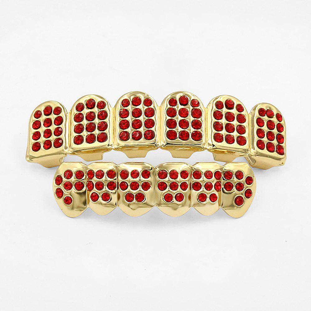 Fancy Hip Hop 18K Gold Plated Gold Classic Grillz