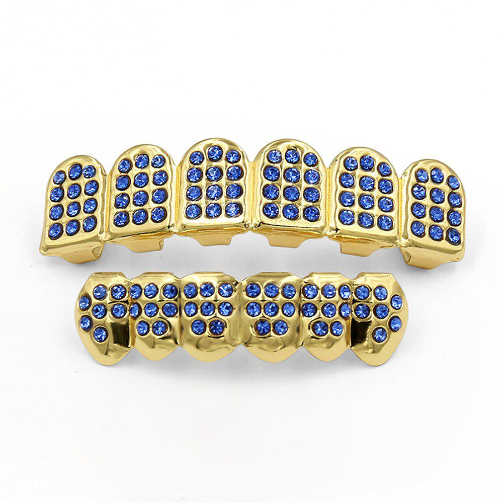 New Hip Hop 18K Gold Plated Gold Classic Grillz