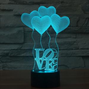 Valentine's Days' Lamp For Room Decorative -