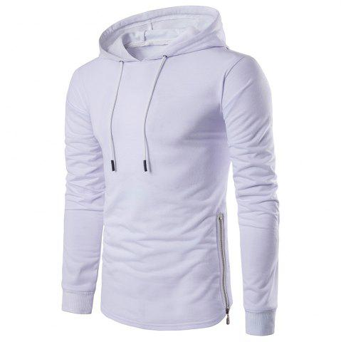 New Fashion Color Thin Zipper Hoodie