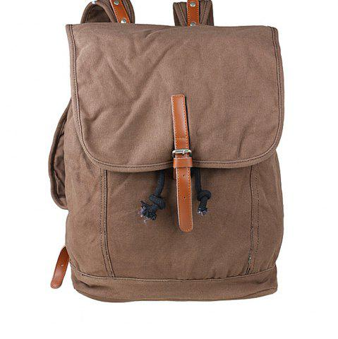 Trendy 1Pc Canvas Backpack Travel Bags Student Laptop Bag