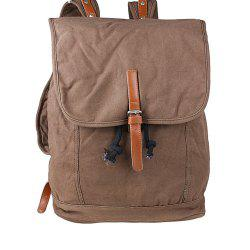 1Pc Canvas Backpack Travel Bags Student Laptop Bag -