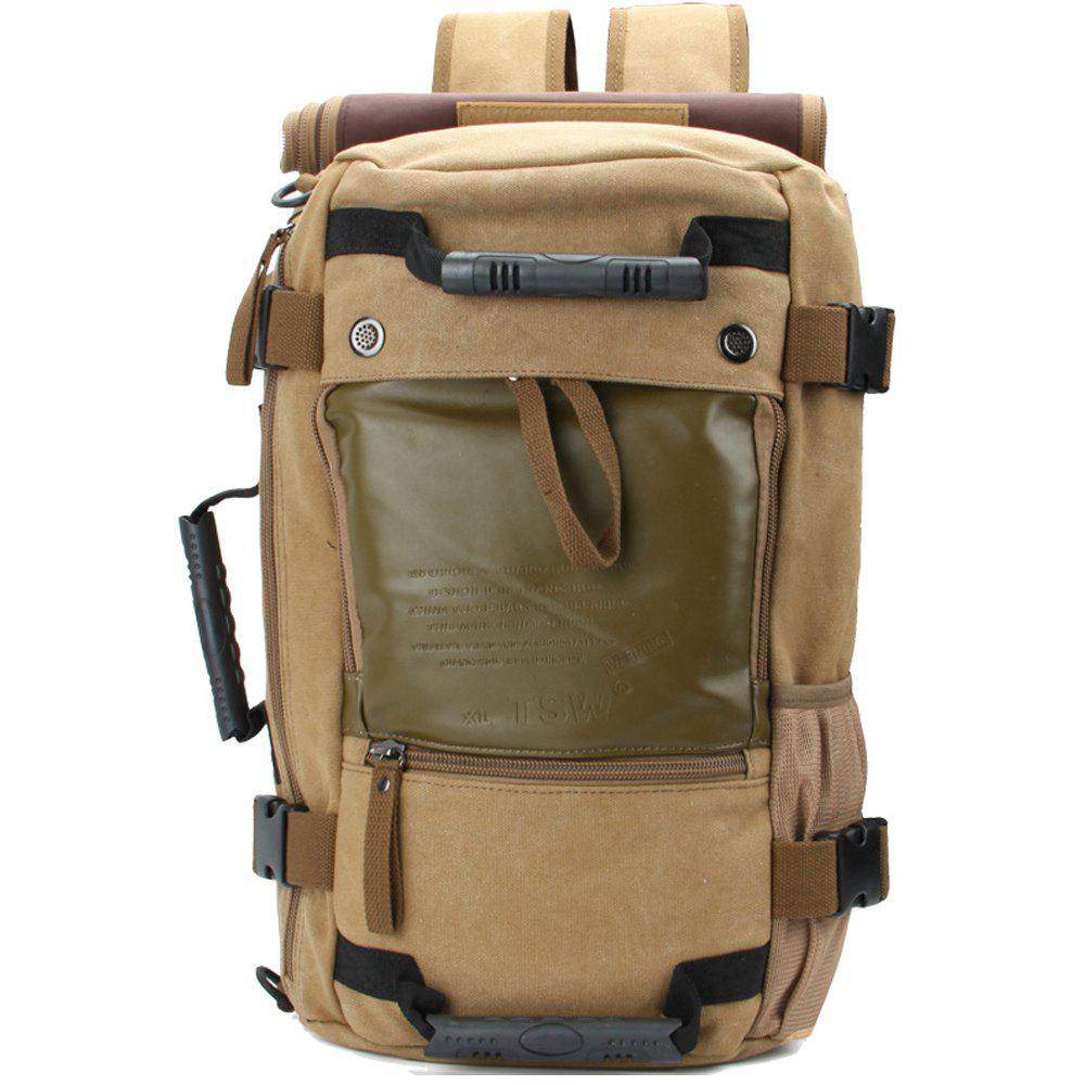 Unique 1Pc Canvas Mountaineering Backpack Sports and Casual Bags Travel Bag