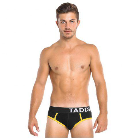 Cheap Taddlee Sexy Men Briefs Bikini Low Waist Men's Stretch Trunks Cotton Solid Color New Underwear