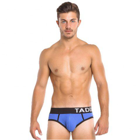 Shop Taddlee Sexy Men Briefs Bikini Low Waist Men's Stretch Trunks Cotton Solid Color New Underwear
