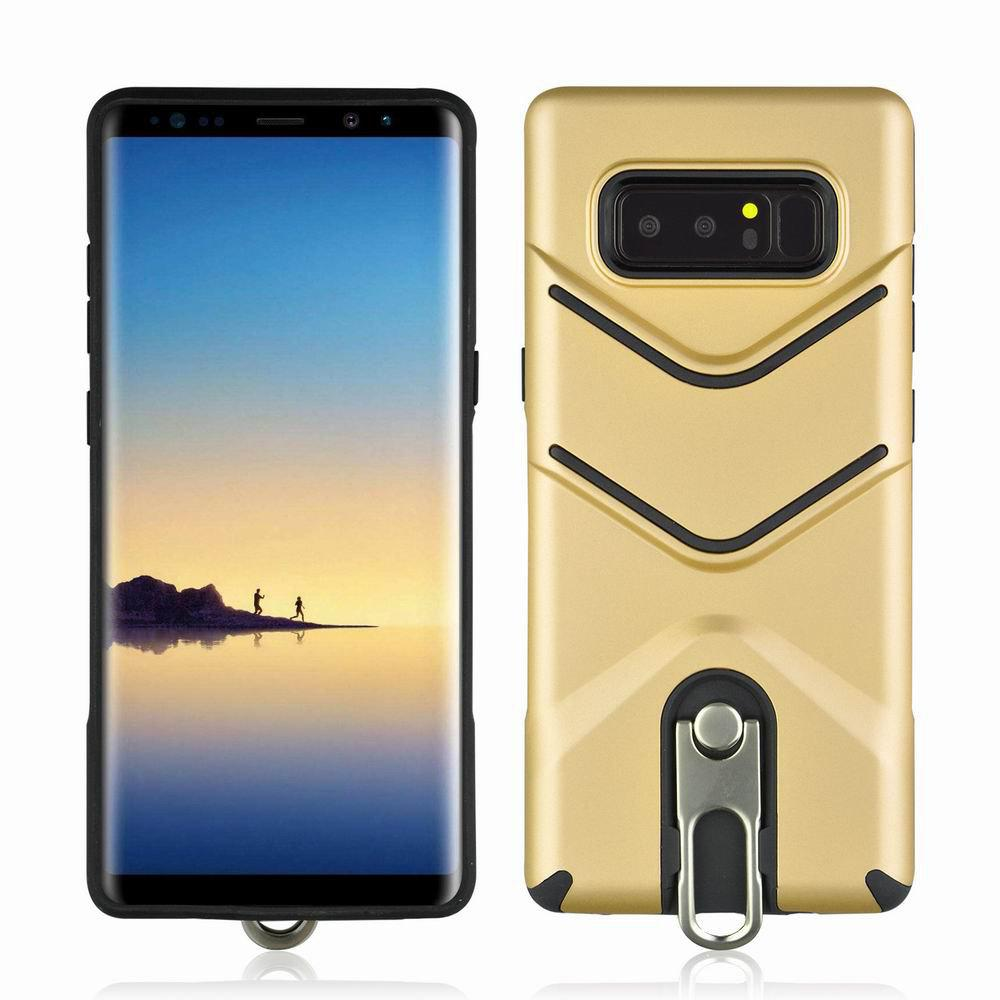 Trendy Kickstand Shock Proof Case For Samsung Galaxy Note8 Case Luxury Back Cases Cover