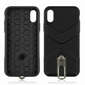Kickstand Shock Proof Case For iPhone X Case Luxury Back Cases Cover -