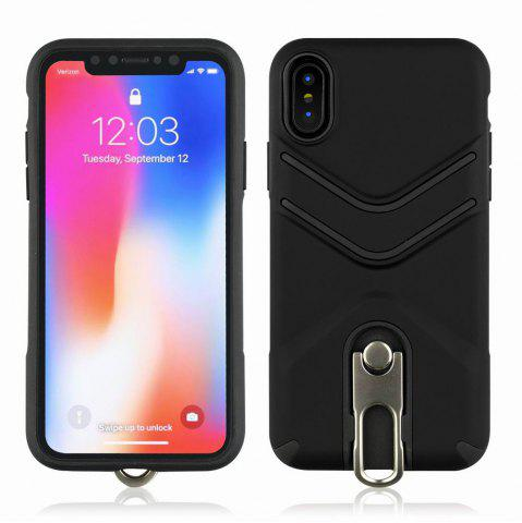 Buy Kickstand Shock Proof Case For iPhone X Case Luxury Back Cases Cover