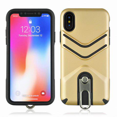 Best Kickstand Shock Proof Case For iPhone X Case Luxury Back Cases Cover