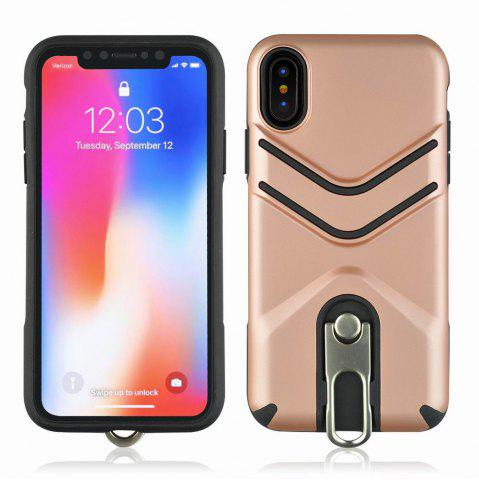 Fancy Kickstand Shock Proof Case For iPhone X Case Luxury Back Cases Cover