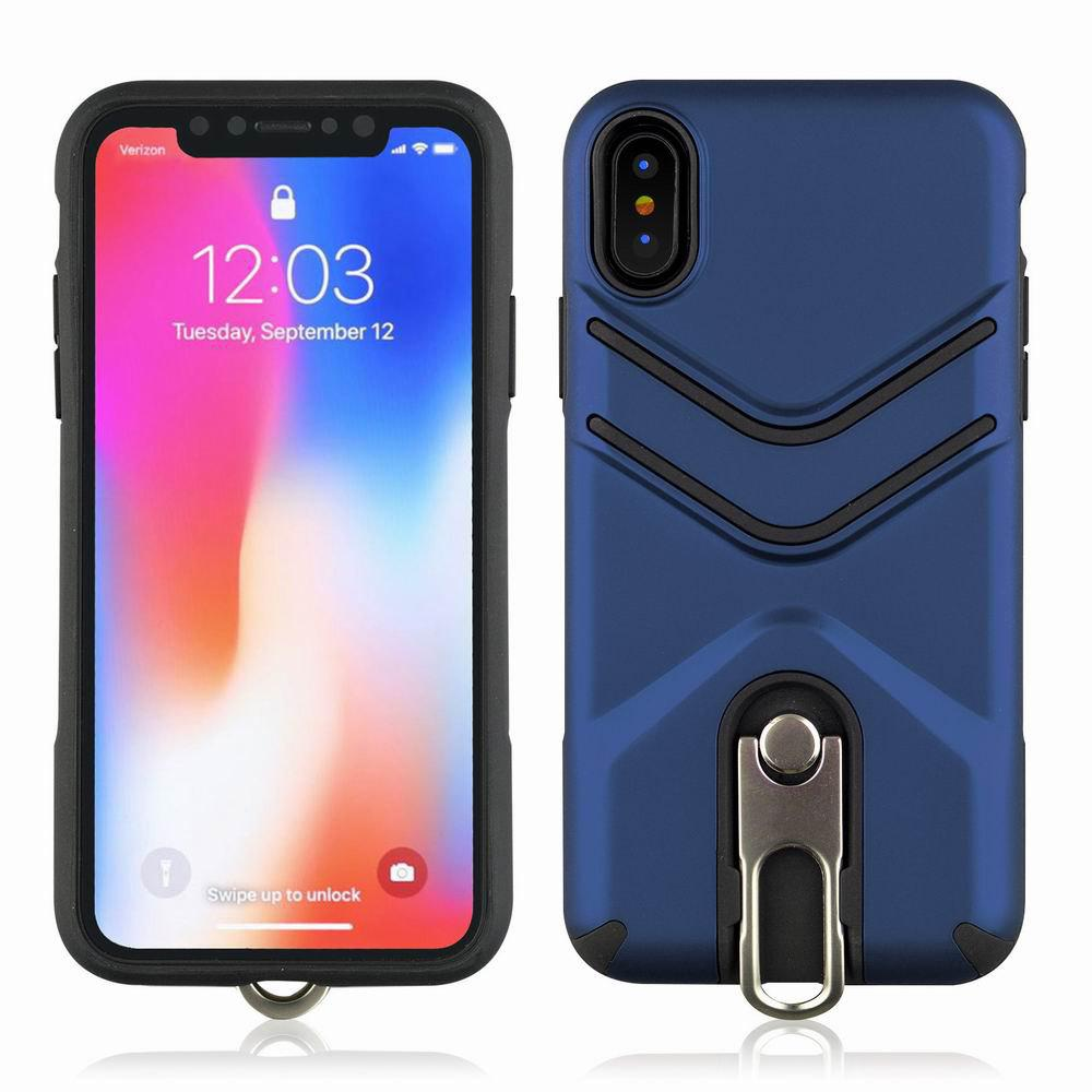 Shops Kickstand Shock Proof Case For iPhone X Case Luxury Back Cases Cover