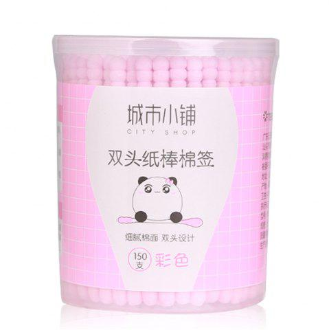 New City Shop NCS078 Colorful Double-headed Cotton Swabs