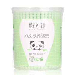 City Shop NCS078 Colorful Double-headed Cotton Swabs -