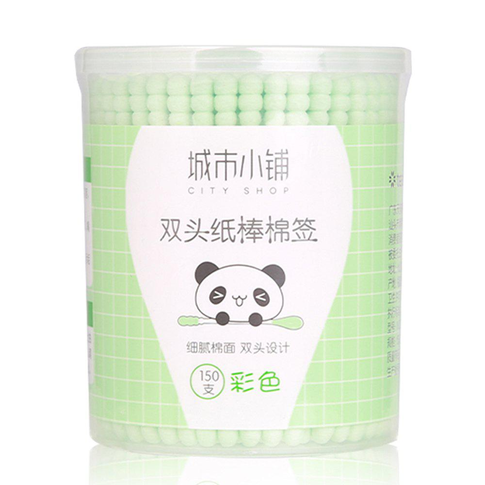 Trendy City Shop NCS078 Colorful Double-headed Cotton Swabs