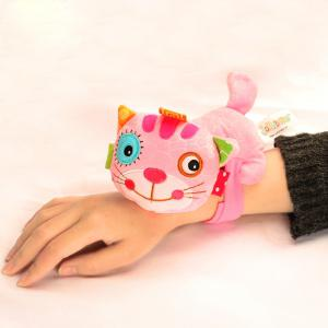 Pink Kitten - Lovely Animal Bed Plush Toy for Kids -
