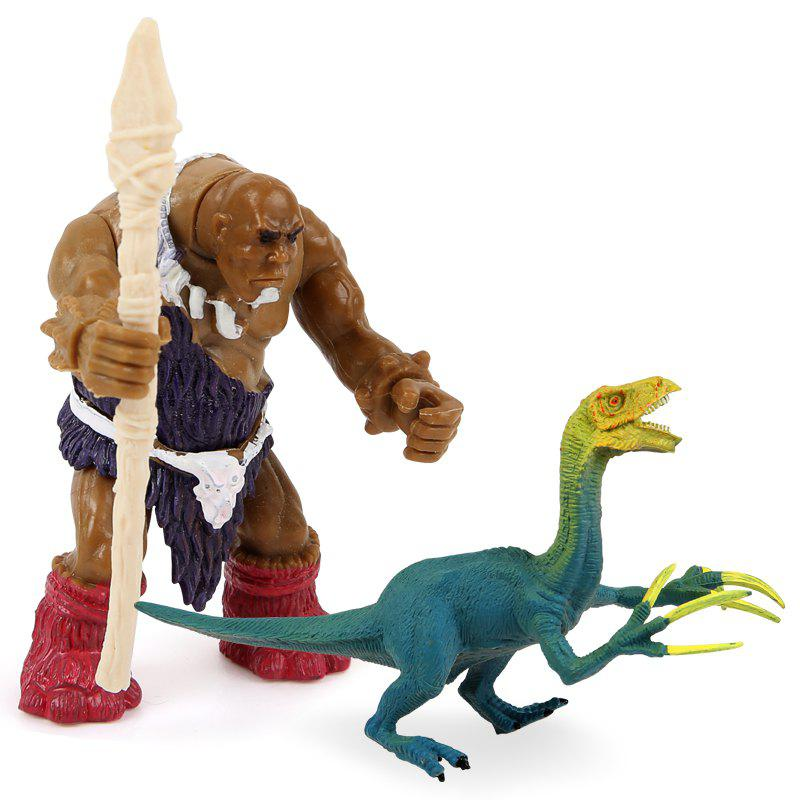 Outfit Wild Man War Sickle Dragon Plastic Model Toy