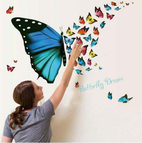 Trendy 3D Butterfly Wallpaper for Living Room Home Decoration
