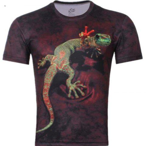 Outfits 3D Printing Chameleon T - Shirt