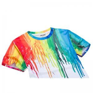 3D Printed Color T - Shirt -