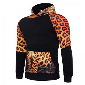 3D Personality Leopard Hoodies -