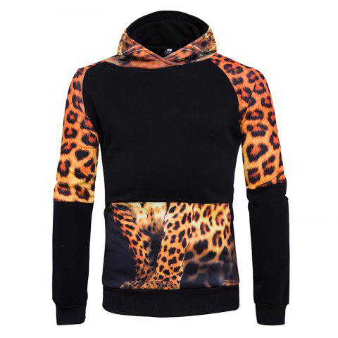 Unique 3D Personality Leopard Hoodies
