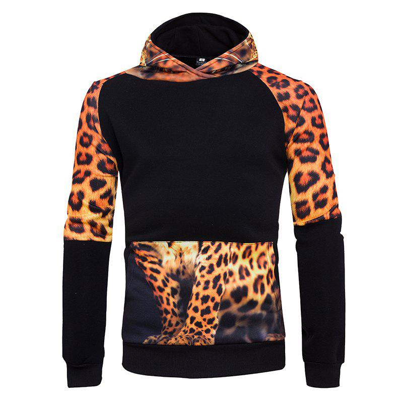 Store 3D Personality Leopard Hoodies
