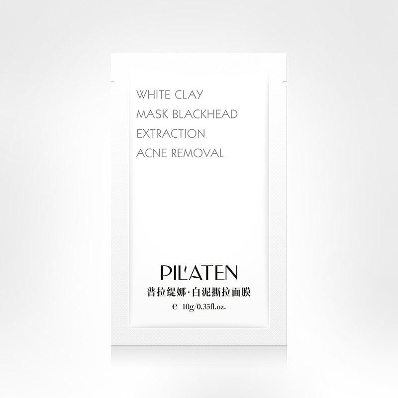 Hot PILATEN White Clay Mask Blackhead Extraction Acne Removal 10PCS