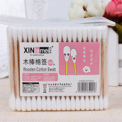 Disposable Makeup Remover Clean Cotton Swab 100PCS -