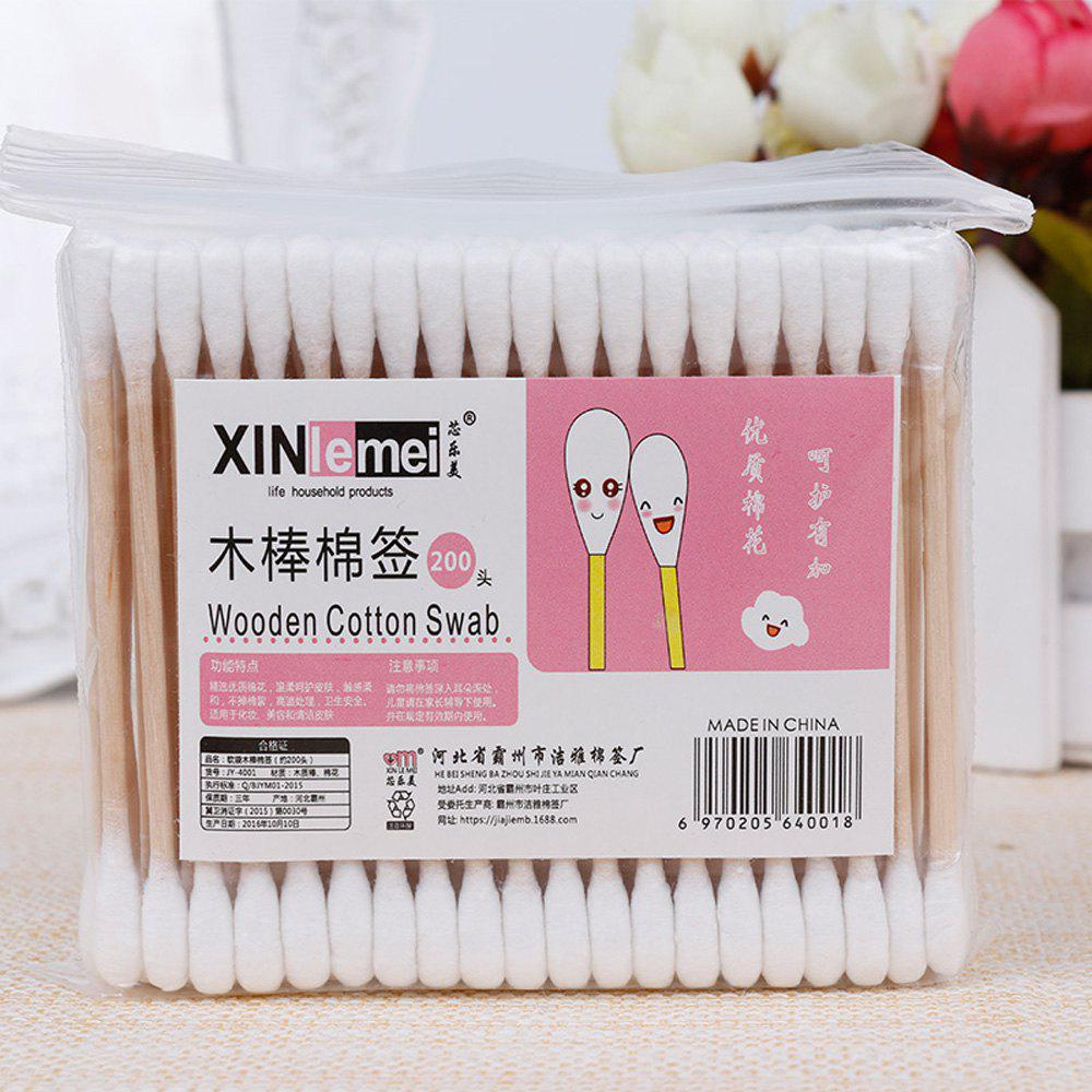 Shops Disposable Makeup Remover Clean Cotton Swab 100PCS