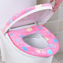 Plush Two-piece Toilet Seat Cover -
