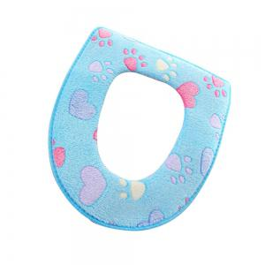 Two-piece Zipper Waterproof Toilet Seat Cover -