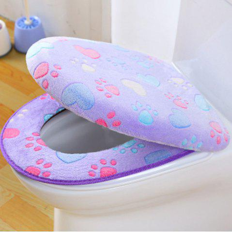 Outfits Two-piece Zipper Waterproof Toilet Seat Cover