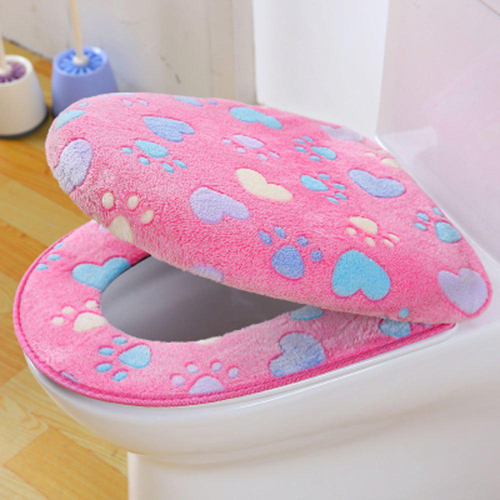 Discount Two-piece Zipper Waterproof Toilet Seat Cover