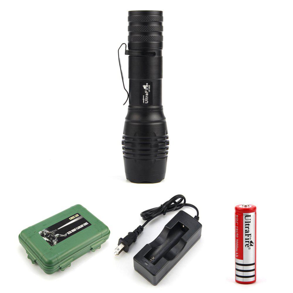 Hot UltraFire UF-S22 XML-T6 680LM 5-Position Telescopic Focusing Flashlight Suit